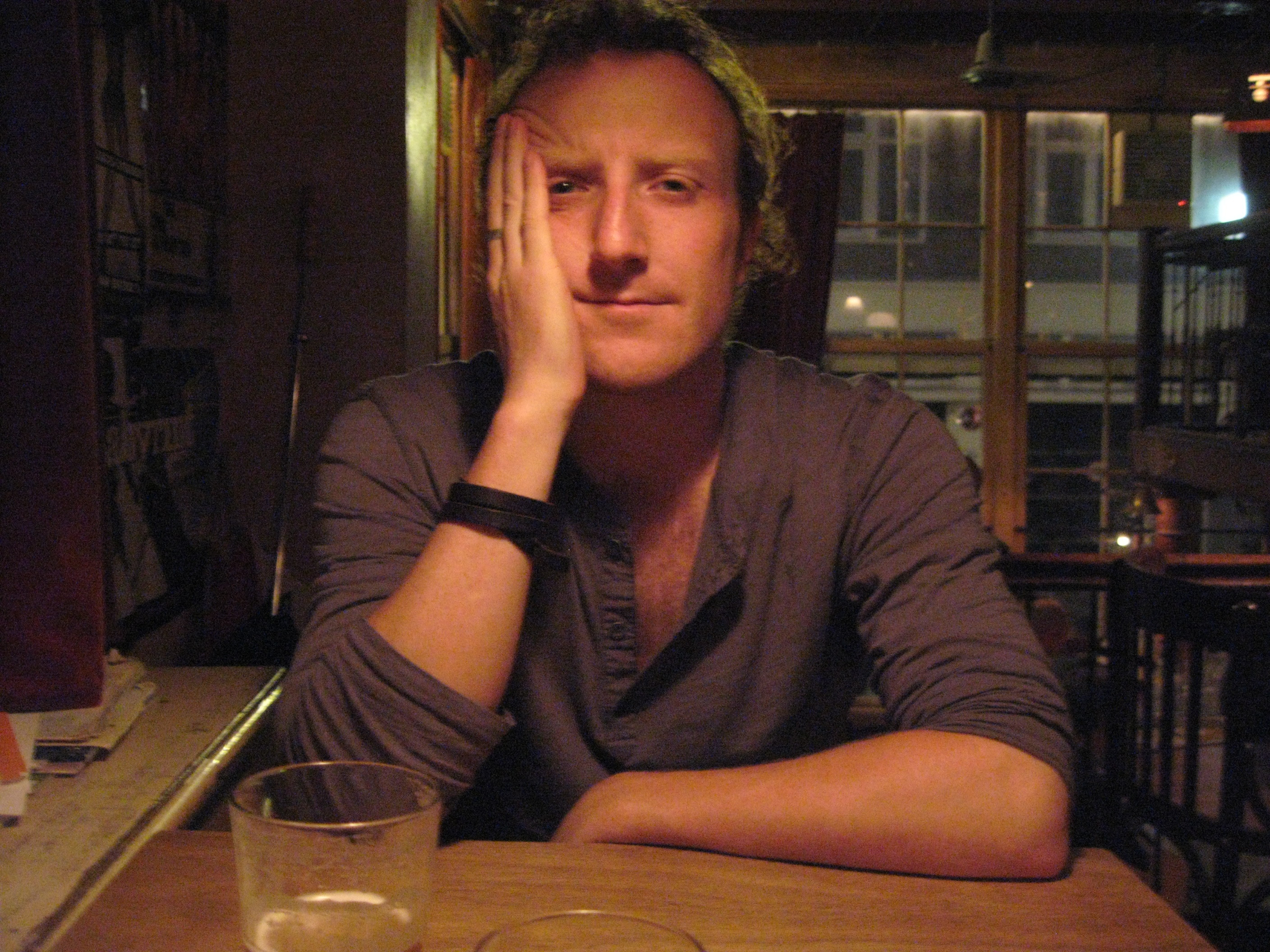 Neil McCarthy on Poets Cafe