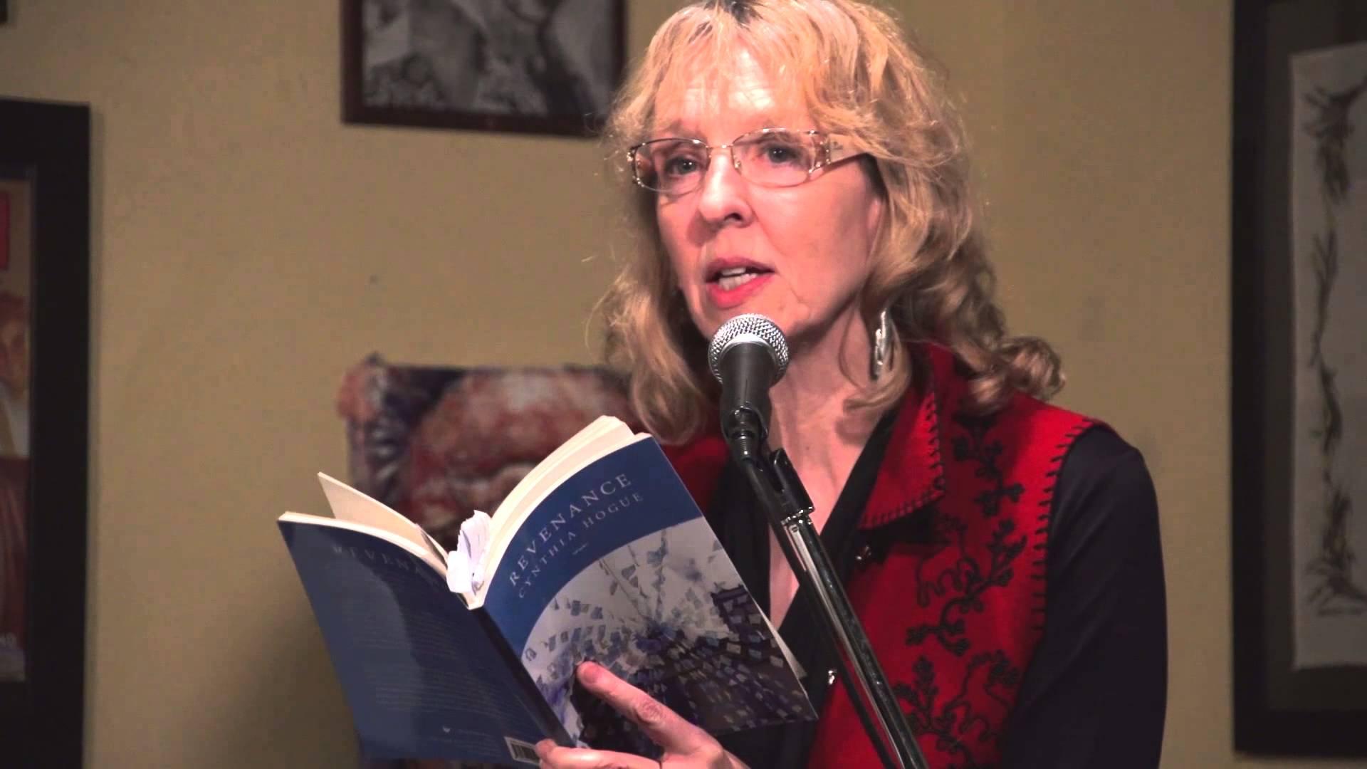 Cynthia Hogue on Poets Cafe