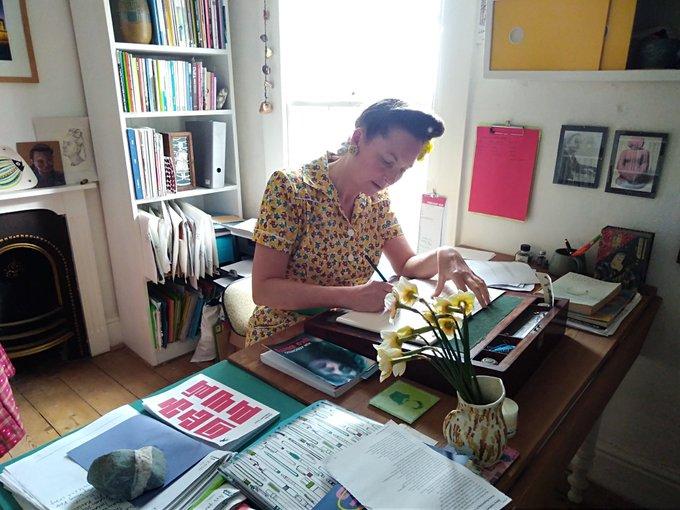 Katrina Naomi on Poets Cafe